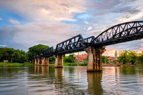 Dschungelerlebnis am River Kwai und Nordthailand Rundreise
