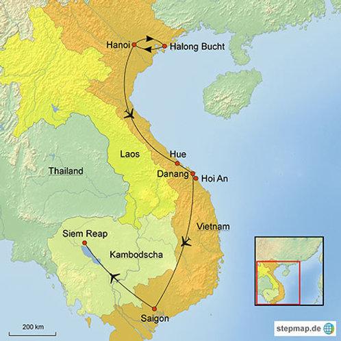 Highlights Kambodscha und Vietnam