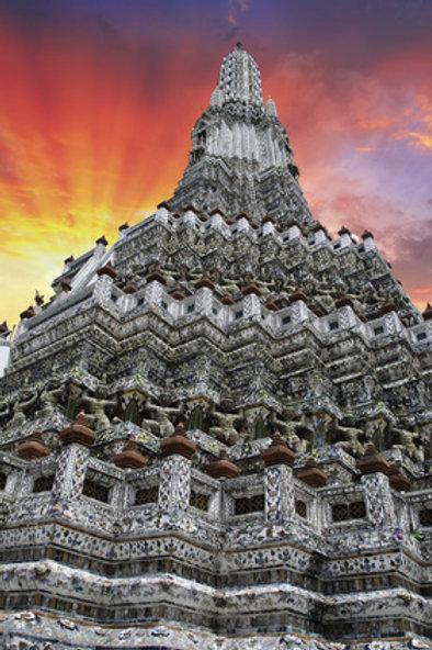 Klongsfahrt & Wat Aroon