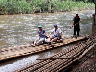 Bambus-Rafting in Chiang Mai