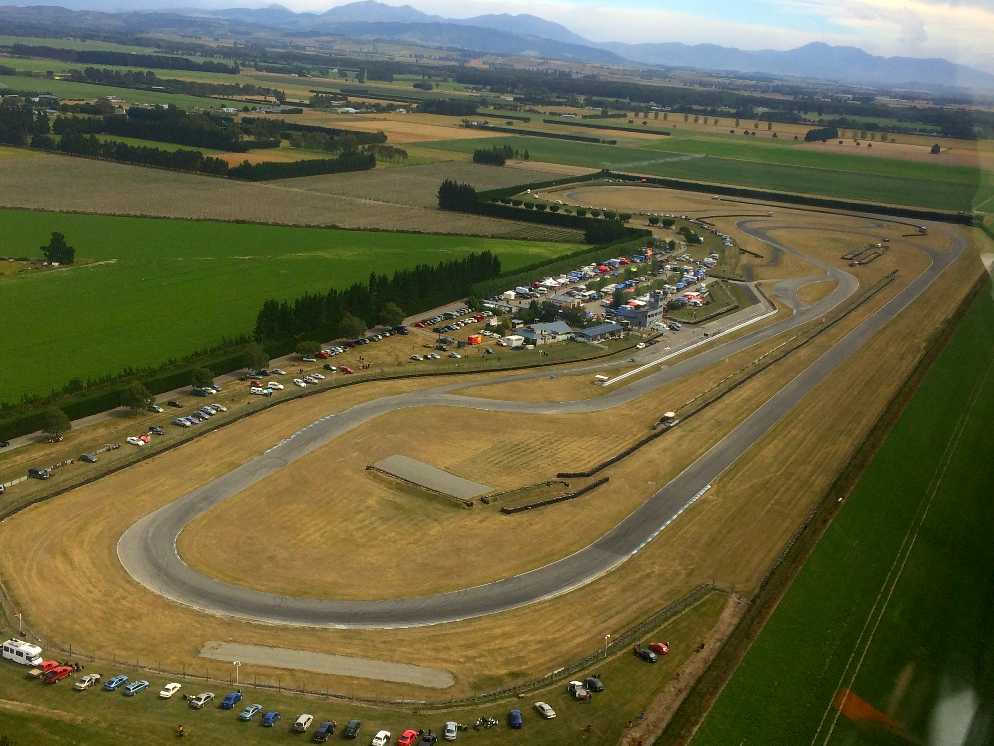 2014 Round 2:Timaru from the air
