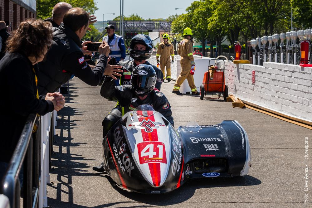 Success at the IOM TT