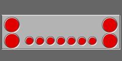 "45"" Light Panel 4"" and 2"""