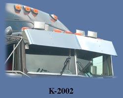 V-Style Visor for KW T600 & T800