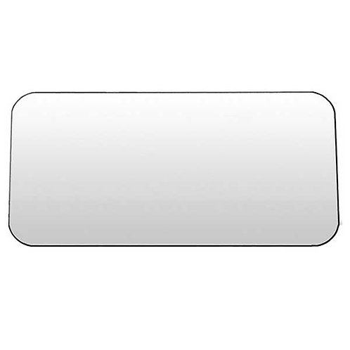 "Stainless Steel Flat Permit Panel 4"" x 8"""