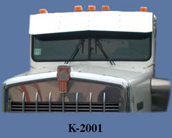 Drop Visor for KW W900a