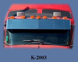 Drop Visor for KW W900l