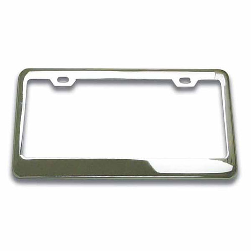 Chrome Steel License Plate Frame