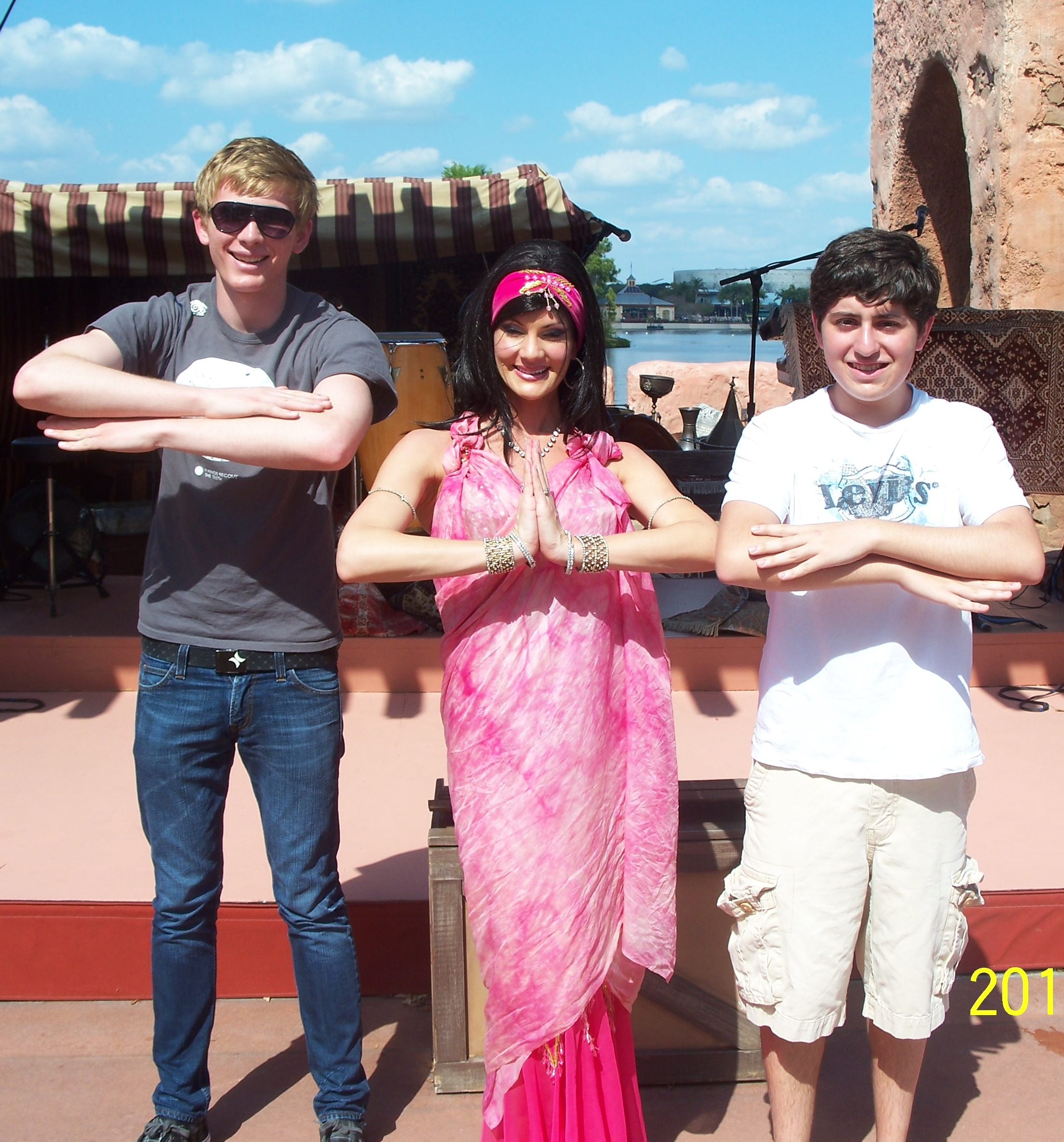 Belly Dancing at Epcot