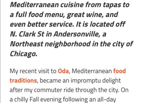 Oda - food, wine and charming service