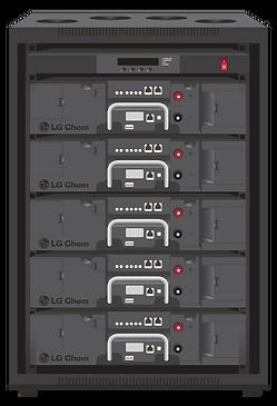 LG Chem Rack Mount For Off Grid