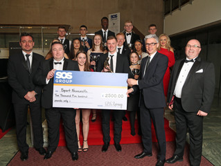 SPORT NEWCASTLE PARTNERS SOS GROUP REACHES £250,000 COMMUNITY SUPPORT MILESTONE