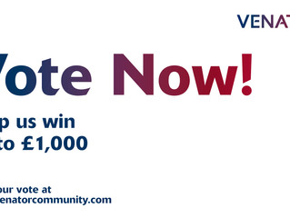 Vote for us to win a grant of up to £1,000!