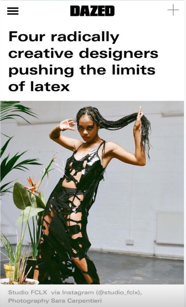 Four radically creative designers pushing the limits of latex