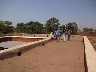 UPA. Validation technique du bâtiment par les créateurs de l'Association Voûte Nubienne