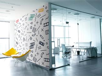 inbaros interior office design wall sticker
