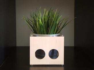 inbaros product industrial design planter decor