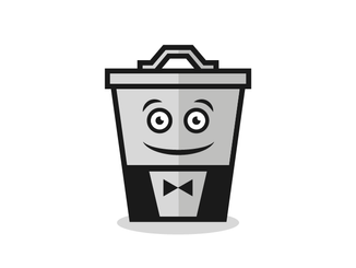 inbaros branding cartoon logo design