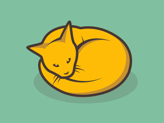 inbaros branding logo design pet cat
