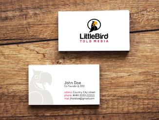 inbaros brand identity business card print