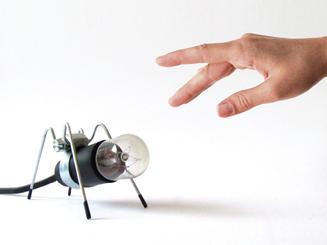 inbaros product industrial design desk lamp