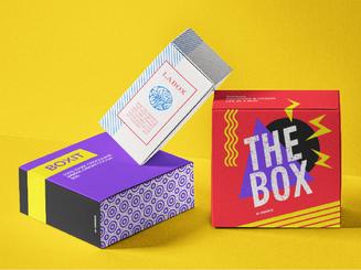 inbaros packaging box cardborad food