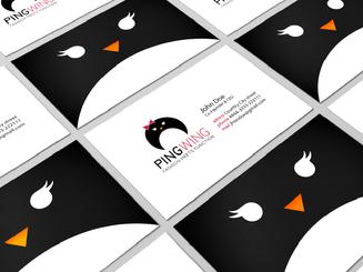 inbaros business card brand identity