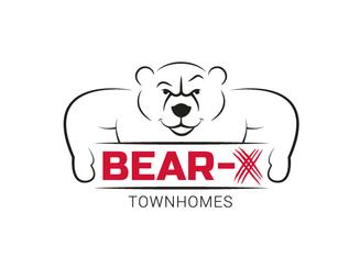 inbaros branding bear logo animal brand
