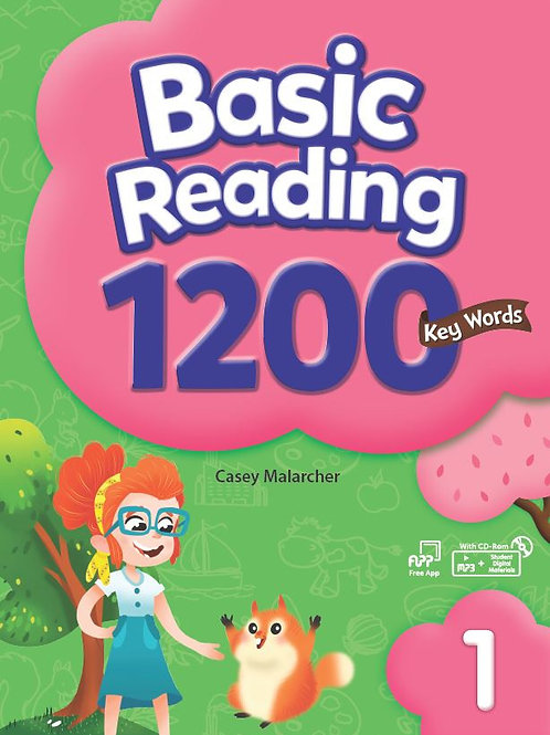Basic Reading 1200 Key Words 1 Student Book with Workbook - BIGBOX Access Code