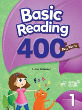 Basic Reading 400 Key Words 1 Student Book with Workbook - BIGBOX Access Code