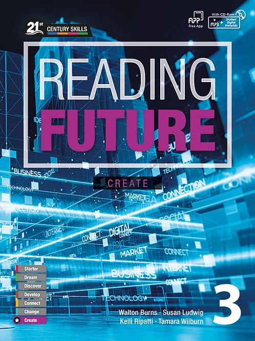 Reading Future Create 3 Student Book with Workbook - BIGBOX Access Code