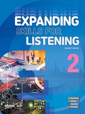 Expanding Skills for Listening 2 Student Book - BIGBOX Access Code