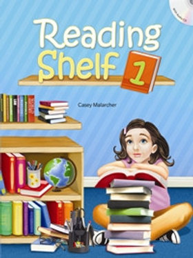Reading Shelf 1 Student Book with Workbook - BIGBOX Access Code