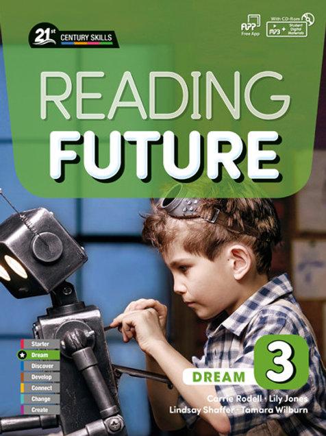 Reading Future Dream 3 Student Book with Workbook - BIGBOX Access Code
