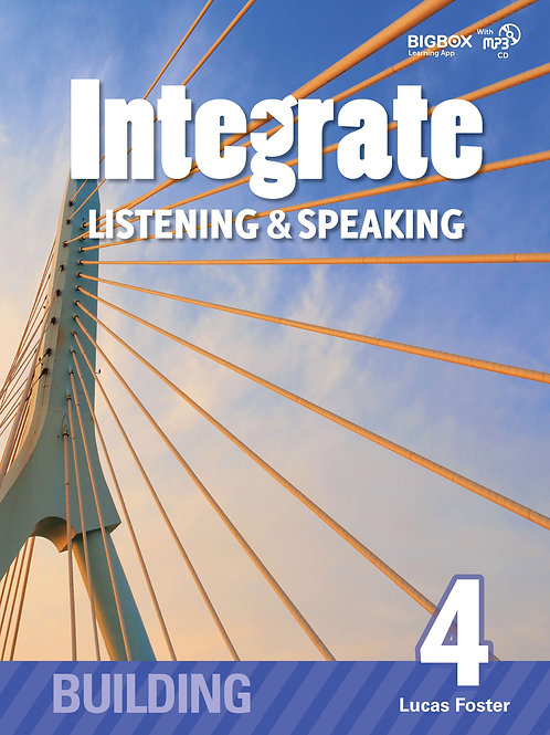 Integrate Listening & Speaking Building 4 Student Book - BIGBOX Access Code