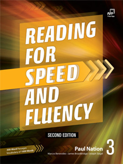 Reading for Speed and Fluency Second Edition 3 Student Book - BIGBOX Access Code