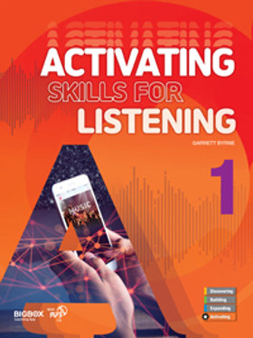 Activating Skills for Listening 1 Student Book - BIGBOX Access Code