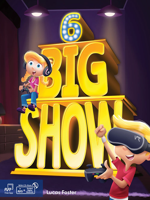 Big Show 6 Student Book - BIGBOX Access Code