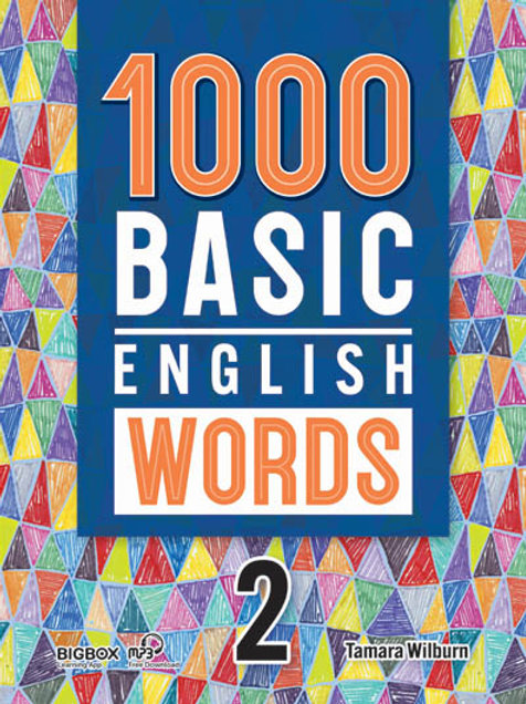 1000 Basic English Words 2 Student Book (New Cover) - BIGBOX Access Code