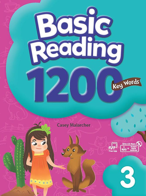 Basic Reading 1200 Key Words 3 Student Book with Workbook - BIGBOX Access Code