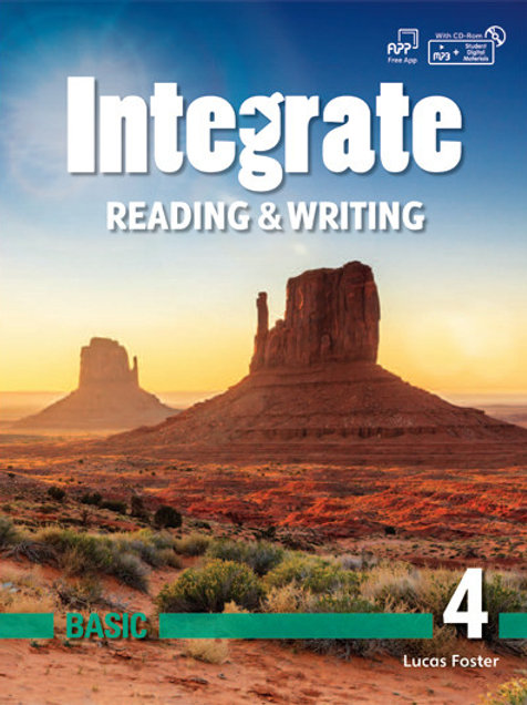Integrate Reading & Writing Basic 4 Student Book- BIGBOX Access Code