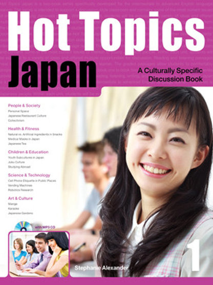 Hot Topics JAPAN 1 Student Book - BIGBOX Access Code