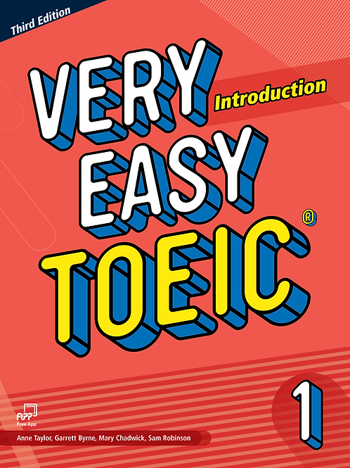 Very Easy TOEIC Third Edition 1 Introduction Student Book - BIGBOX Access Code