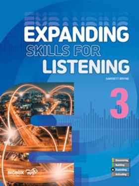 Expanding Skills for Listening 3 Student Book - BIGBOX Access Code