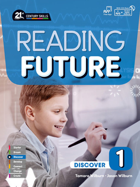 Reading Future Discover 1 Student Book with Workbook - BIGBOX Access Code