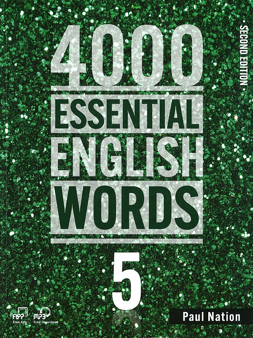 4000 Essential English Words Second Edition 5 Student Book - BIGBOX Access Code