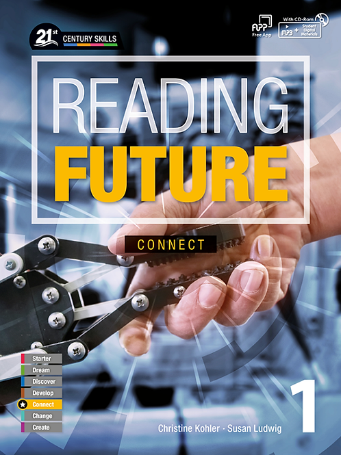 Reading Future Connect 1 Student Book with Workbook - BIGBOX Access Code