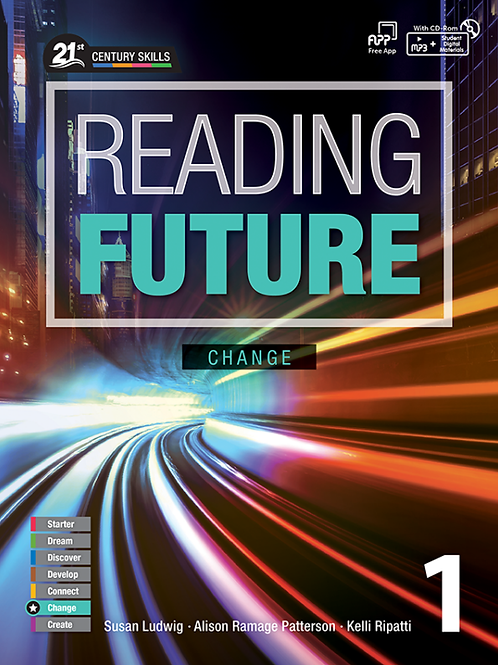 Reading Future Change 1 Student Book with Workbook - BIGBOX Access Code
