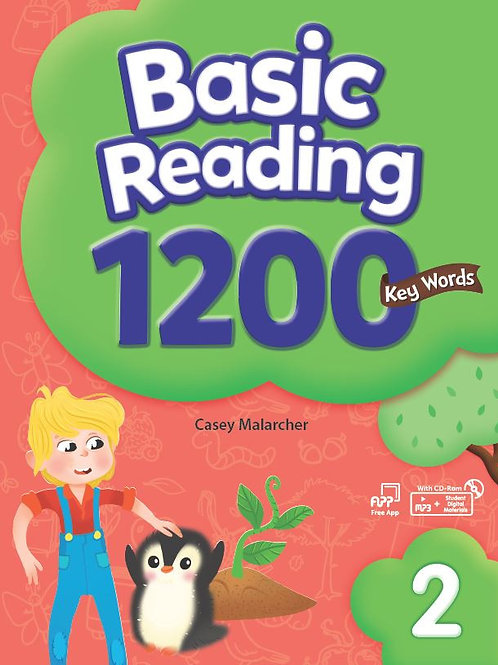 Basic Reading 1200 Key Words 2 Student Book with Workbook - BIGBOX Access Code