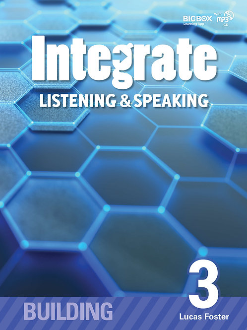 Integrate Listening & Speaking Building 3 Student Book - BIGBOX Access Code